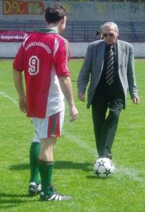 Grosics Gyula Aranycsapattag újra pályára lépett