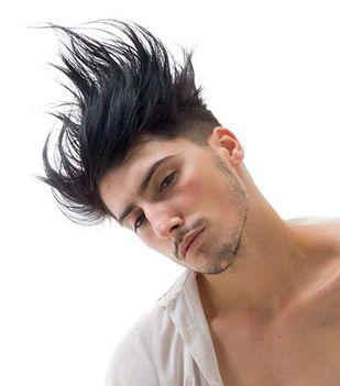 modern férfi frizura