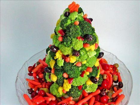 zöldség fenyőfa