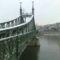 A Szabadság-híd télen