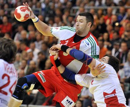 Kézilabda EB 2010 - Spanyolország-Magyarország 01
