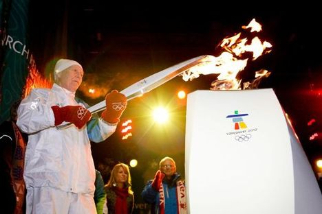 Vancouver 2010 - olimpiai láng 03