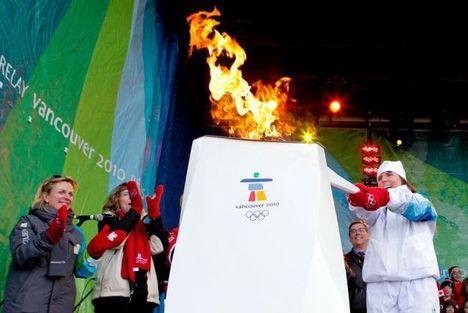 Vancouver 2010 - olimpiai láng 14