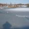 beállt a levéli tó