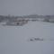 befagyott levéli tó