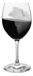 egy pohár vörösbor