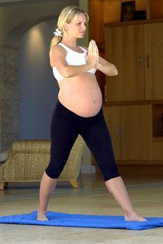 Kismama jóga 1
