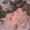 rántot hekk törzs mexikóis rizzsel és olaszos zöldborsóval