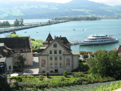 Zürichi-tó, látkép, Svájc