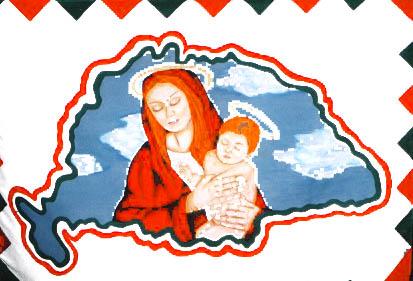 marias jezuskas zaszlo