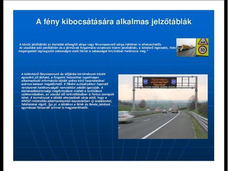 Új KRESZ magyarázat képekben 05 - A soproni rendőrkapitányság egyszerű, képes magyarázata a KRESZ módosításairól