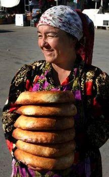 nan, a közép-ázsiai kenyér