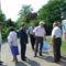 Bánhegyes, Csabaszabadi, az Országos elnök és Ambrózfalva képviselői egy képen