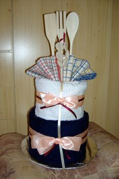 Törölköző torta