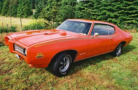 1969 Pontiac GTO The Judge
