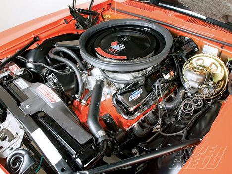 1969 Yenko Camaro   engine