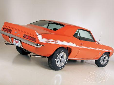 1969 Yenko Camaro   rear view