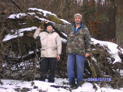 a csapodi erdőn  voltunk