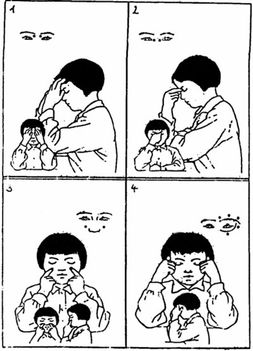 kínai szemmasszázs