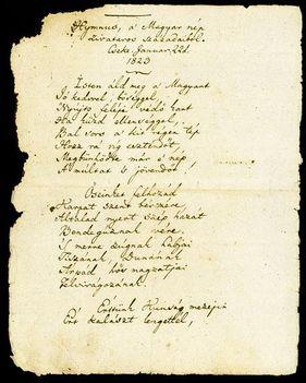 a Himnusz első verssorai