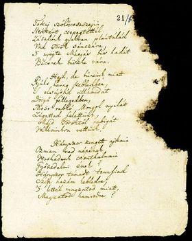 a Himnusz középső verssorai