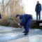 jégpróba a Tiszán