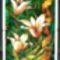 Arany tulipánok 21x30 cm