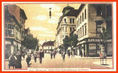 Győr, Baross utca