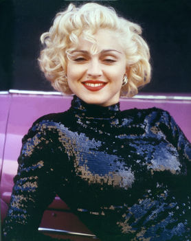 1990 - Madonna by Patrick Demarchelier for Dick Tracy Promo