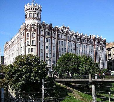 Moszkva téri volt Posta