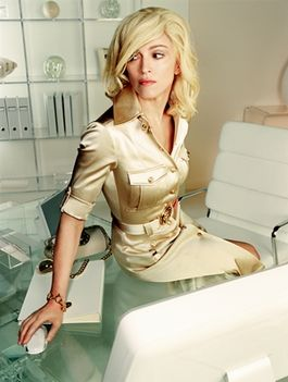 2004 - Madonna by Mario Testino for Versace Commercial