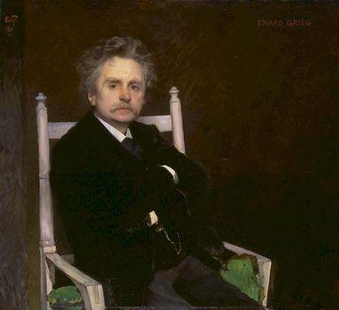 Edvard Grieg - 1891