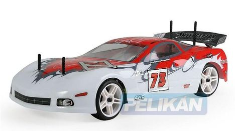Himoto Nas Corvette piros autómodell
