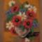 Virágcsokor ( gobelin )