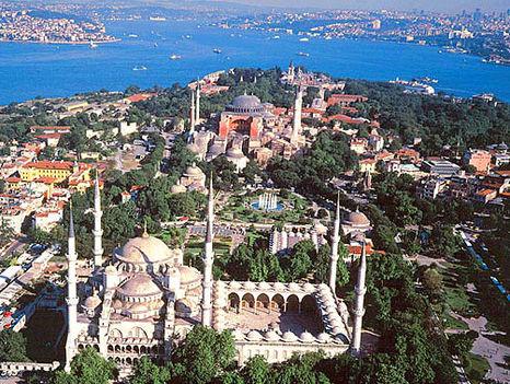 Isztambul látképe