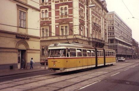 605-ös kocsi a 80-as években