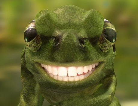 Vakító mosoly