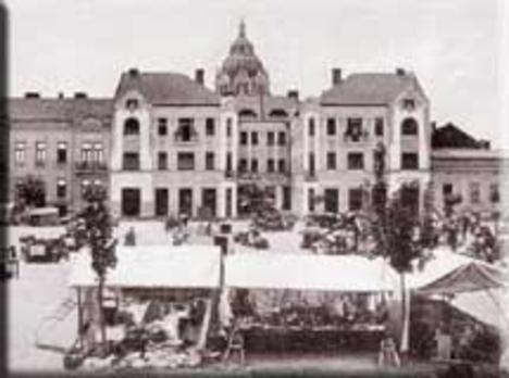 Bartók Béla tér - Bokor palota
