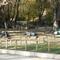 hajléktalanok egy bpi parkban