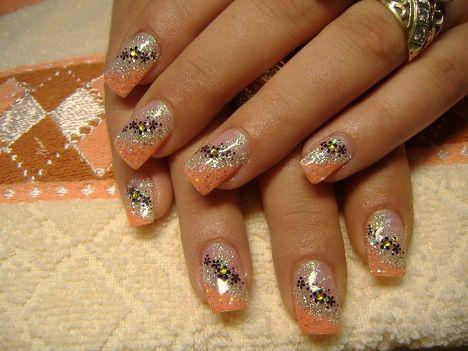 narancssárga-ezüst