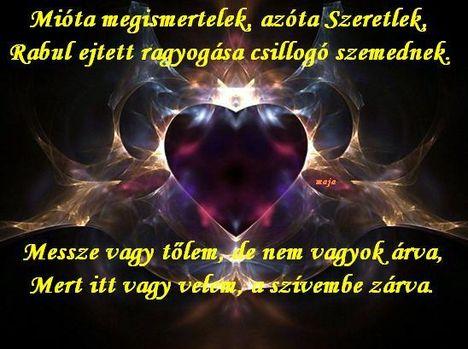romantikus versek