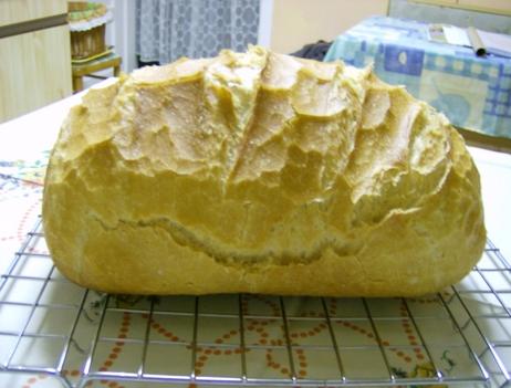 Sját sütésű fehér kenyér