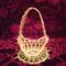 Húsvéti tojások, kosarak, csibék