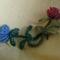Kék és piros virág