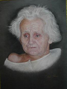 Tabáni István - Az idős hölgy