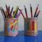 Ceruzatartó ( x szemes hímzés )