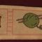 Tapétacsík  ( x szemes hímzés )