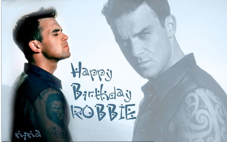 Happy Birthday Robbie