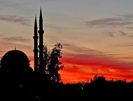 Törökország - naplemente