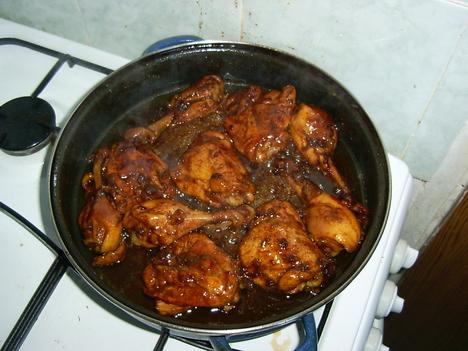 Kólás csirke